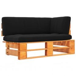 vidaXL Puertas listones jardín 2 uds madera pino impregnada 150x80 cm