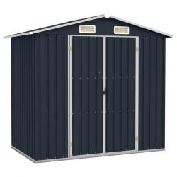 vidaXL Cubo de basura con sensor automático acero inoxidable 32 L