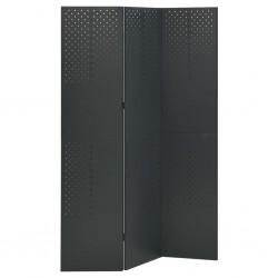 vidaXL Cubo de basura con sensor automático 62 L negro