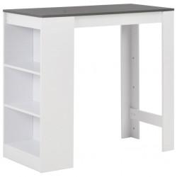 vidaXL Mueble zapatero de aglomerado blanco y roble Sonoma 60x35x84 cm