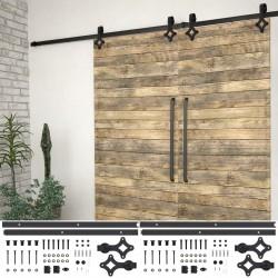 vidaXL Escritorio esquinero de aglomerado gris brillante 200x50x76 cm