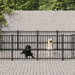 """vidaXL Bicicleta niños y portaequipajes delantero 14"""" negro y naranja"""