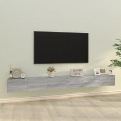 vidaXL Colchón de aire inflable azul 66x200 cm