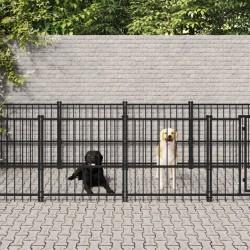 vidaXL Colchón de aire inflable con almohada naranja 58x190 cm
