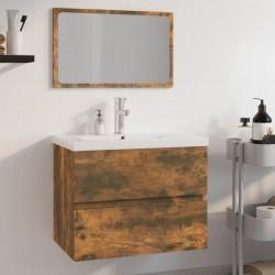 vidaXL Muro de gaviones para contenedor de basura acero 320x100x120 cm