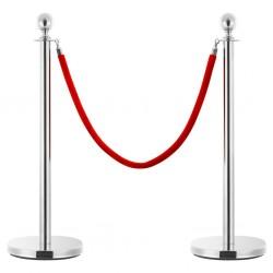 vidaXL Cenador con cortinas acero color crema 3x3 m