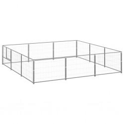 vidaXL Set de funda de edredón algodón azul 200x200/60x70 cm