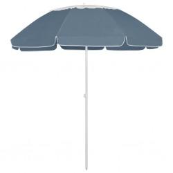 vidaXL Mesa de camping plegable con 2 bancos aluminio blanco