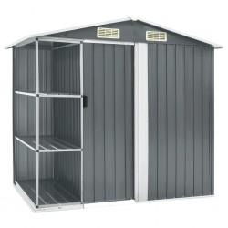 vidaXL Estantería de 5 niveles madera maciza de mango 60x30x180 cm