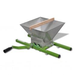 vidaXL Desagüe de ducha con cubierta 2 en 1 acero inoxidable 53x14 cm