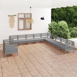 vidaXL Caja de palés de madera maciza de pino 60x80 cm