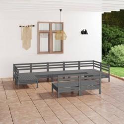 vidaXL Caja de palés 3 unidades madera maciza de pino 80x120 cm