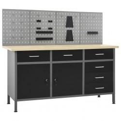 vidaXL Cenador tela gris antracita 3x3 m