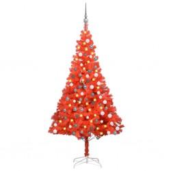 vidaXL Sistema de panel de ducha vidrio marrón