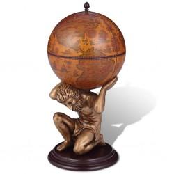 vidaXL Tienda de campaña tipo iglú 4 personas verde 450x240x190 cm