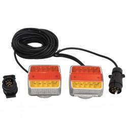 vidaXL Tienda de campaña tipo iglú 4 personas amarillo 450x240x190 cm