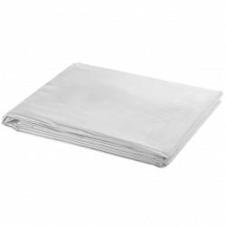 vidaXL Tumbonas con cojines 2 unidades madera maciza teca color crema