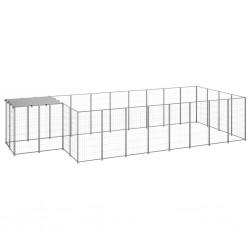 vidaXL Cenador marrón 3x3 m