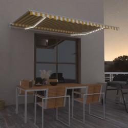 vidaXL Cenador con cortinas color crema 300x400x265 cm