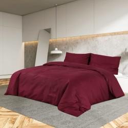 vidaXL Set funda de edredón diseño floral multicolor 200x220/80x80 cm