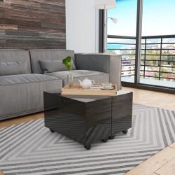 vidaXL Cenador marrón 4x3 m