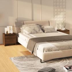 vidaXL Mampara de ducha de vidrio templado a rayas 120x140 cm