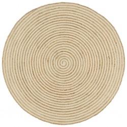 vidaXL Escritorio de aglomerado blanco y roble Sonoma 140x50x77 cm