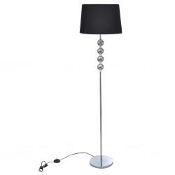 vidaXL Puerta de jardín de acero negro 500x150 cm