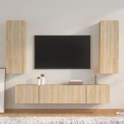 vidaXL Juego de maletas rígidas con ruedas 3 piezas ABS menta
