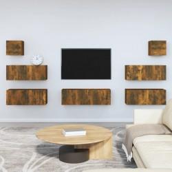 vidaXL Juego de maletas rígidas con ruedas 3 piezas ABS gris antracita