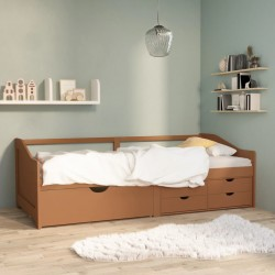 vidaXL Escritorio aglomerado color roble Sonoma y blanco 100x50x76 cm