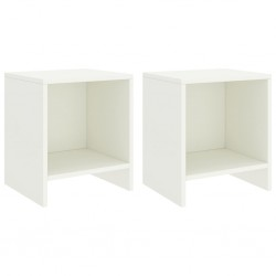 vidaXL Cajonera de aglomerado color blanco y roble Sonoma 40x50x76 cm