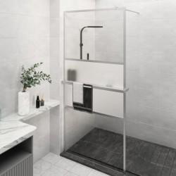 vidaXL Cajonera de aglomerado gris brillante 40x50x76 cm
