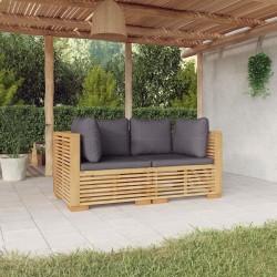 vidaXL Base de sombrilla de acero y cemento gris oscuro 11 kg