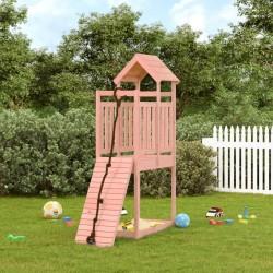 vidaXL Juego de maletas rígidas con ruedas 2 piezas ABS rosa
