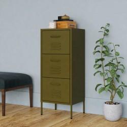 vidaXL Cobertizo jardín con tejado extendido acero verde 335x236x184cm