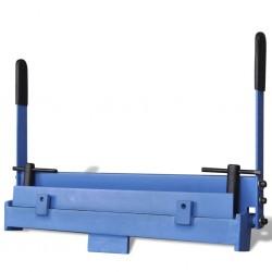 vidaXL Juego de muebles de jardín 2 piezas ratán sintético gris