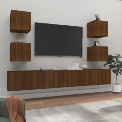 vidaXL Silla de oficina giratoria de cuero sintético blanco