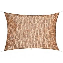 vidaXL Lámina para coches azul mate 200x152 cm