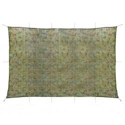 vidaXL Lámina para coches verde mate 4D 500x152 cm
