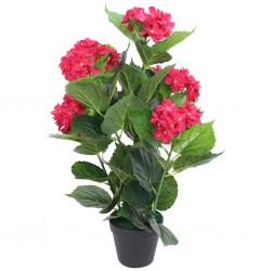 HI Silla de playa plegable naranja 65x55x25/65cm