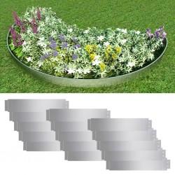 vidaXL Silla oficina giratoria madera curvada cuero sintético blanco