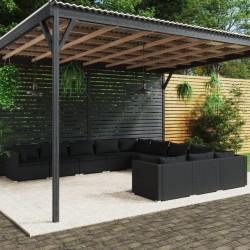 vidaXL Inodoro portátil para camping gris 10 + 10 L