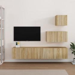 vidaXL Inodoro de pared sin bordes con función de bidé cerámica negro