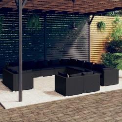 vidaXL Juego de alfombrillas para coche 4 piezas para Audi A8