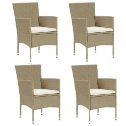 vidaXL Juego de alfombrillas de coche 4 piezas para Audi A1 Sportback