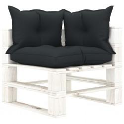 vidaXL Camilla de masaje plegable 3 zonas madera rosa