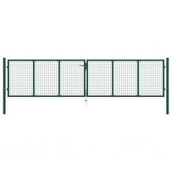 vidaXL Camilla de masaje plegable 3 zonas madera morado vino