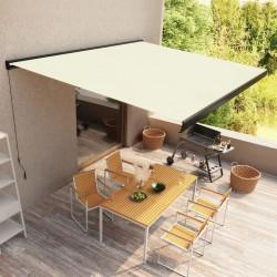 vidaXL Camilla de masaje plegable 2 zonas aluminio morado vino