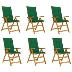 vidaXL Camilla de masaje plegable 2 zonas madera blanco y rosa